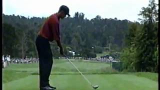 Tiger Woods Driver Swing 2000 - US Open