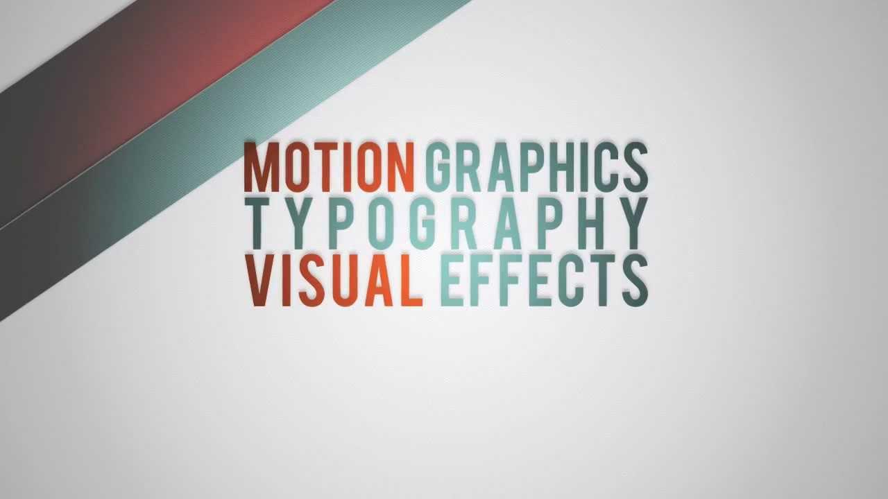 After Effects Project File Digital Resume Portfolio Presentation - Awesome slideshow after effects scheme