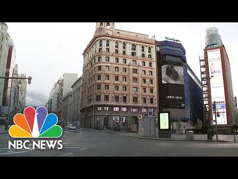 COVID-19 State Of Emergency Places Madrid In Lockdown | NBC News