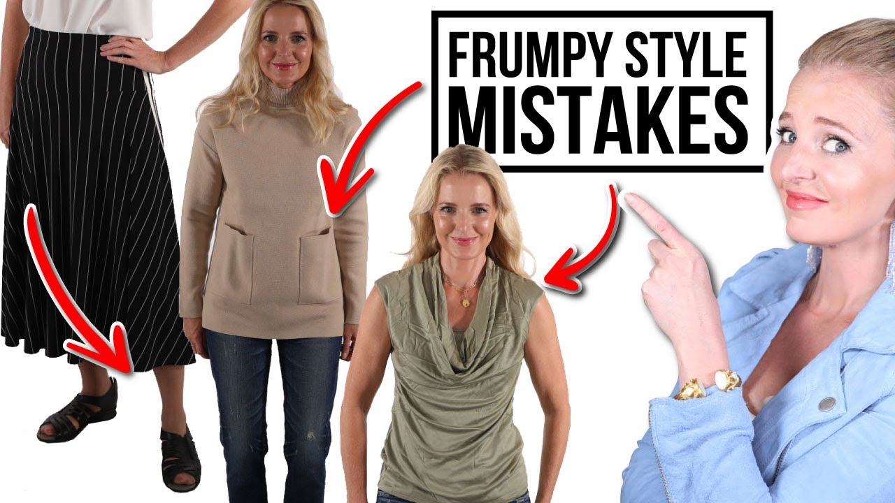 5 SURPRISING STYLE MISTAKES That Are Making You Look FRUMPY and OLDER (Style tips over 45)