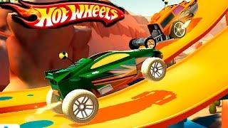 МАШИНКИ МОНСТР ТРАКИ ХОТ ВИЛС ЧУМОВЫЕ ГОНКИ игровой мультик про машинки как вспыш HOT WHEELS CARS 4