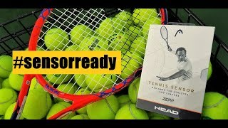 Head Tennis Sensor UNBOXING & INSTALLATION (powered by Zepp)