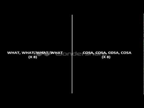 MACKLEMORE  RYAN LEWIS   THRIFT SHOP (With Lyric e Traduzione Italiano nello schermo)
