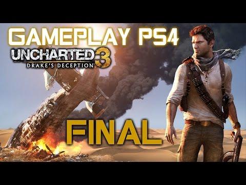 Uncharted 3: La traición de Drake Gameplay PS4 en español #18 Final