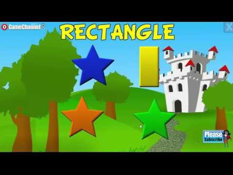 Preschool Kindergarten Learning Games Shapes Colors Puzzles