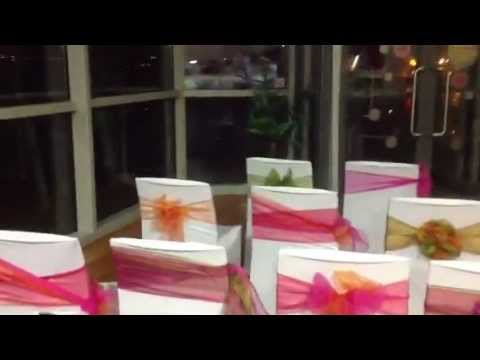 Chair Covers Wedding Hull Leather To Cover Chairs At The Deep Fair 2013 Youtube