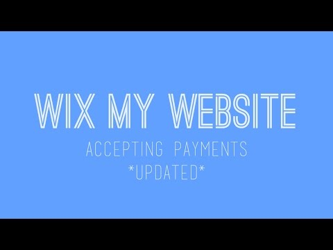 How to build a Wix website - Accepting Payments on Wix - Wix Tutorial For Beginners - Updated