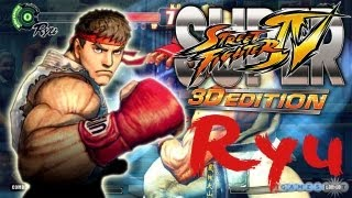 Let 39 s Play Super Street Fighter IV 3D Edition Part 1 Ryu