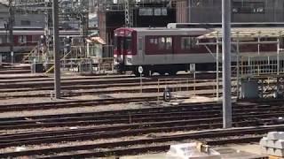 ◆6両編成 回送 入庫 近鉄 東花園車庫◆