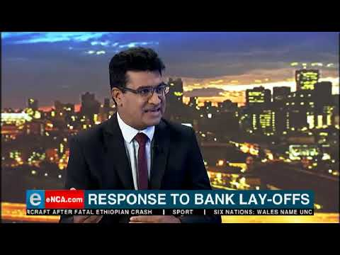 Response to Standard Bank's lay offs