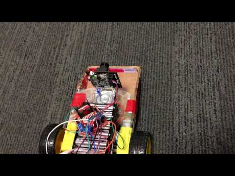 ECE5-Color Object Tracking & Collecting Car
