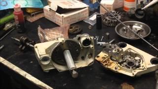 Stihl MS360 Crankcase Split