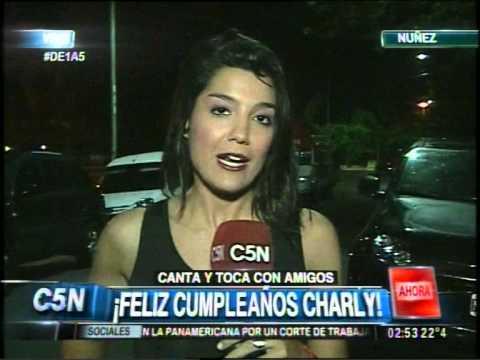 C5N - DE1A5: EL CUMPLEAÑOS DE CHARLY GARCIA (PARTE 2)