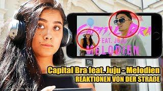CAPITAL BRA feat. JUJU - MELODIEN || LIVE REAKTIONEN VON DER STRAßE 🎧 - Leon Lovelock