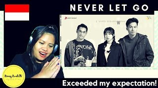 NEVER LET GO - AFGAN,ISYANA AND RENDY   Self-taught Singer Listens.