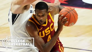 Evan Mobley has 18 points and a vicious block in USC's win vs. BYU | ESPN College Basketball