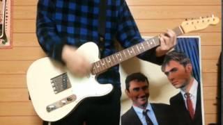 SHISHAMOの第三ボタンのギターを弾きました。 guitar Fender Japan TL62...