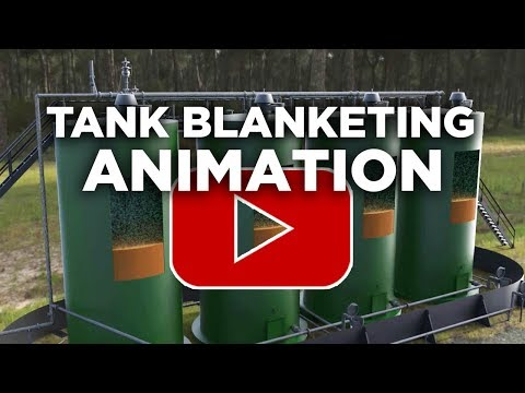 Tank Blanketing Animation