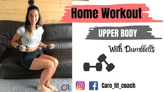 HOME WORKOUT - Upper Body