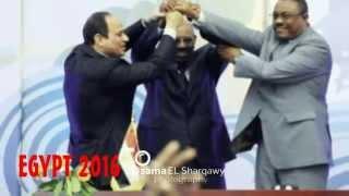 EGYPT 2016 بطولة أفريقيا لكرة اليد تحت رعاية الرئيس عبد الفتاح السيسي رئيس الجمهورية