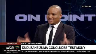 State Capture Inquiry | Duduzane Zuma concludes testimony