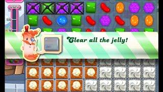 Candy Crush Saga Level 1157 walkthrough (no boosters)