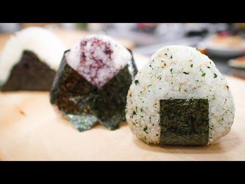 Onigiri Rice Balls Recipe with Hana! - Pai's Kitchen