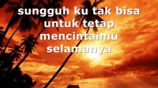 Tompi - Salahkah with lyrics on screen MP3