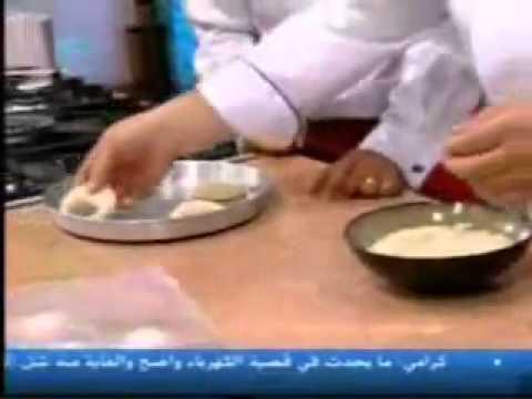 KNAFEH BIL TAMER كعكة الكنافة باالتمر