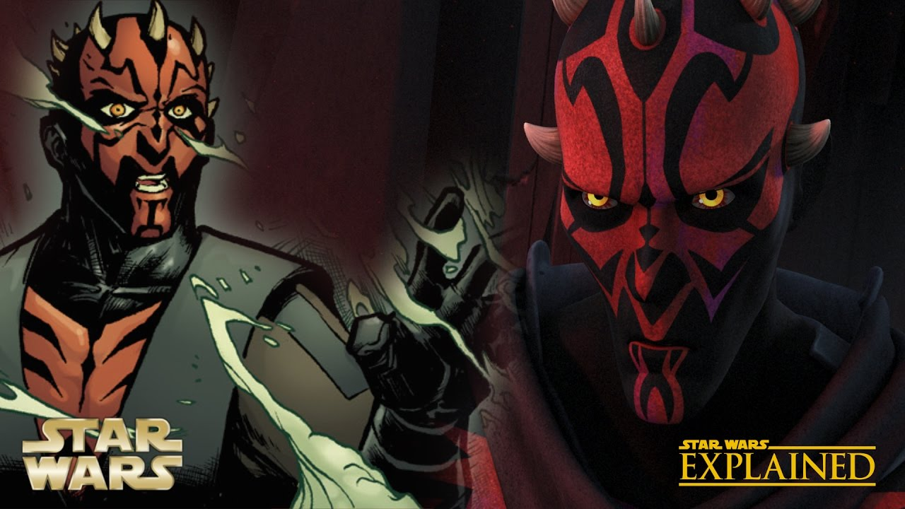 What Happened to Darth Maul Between the Clone Wars and ...