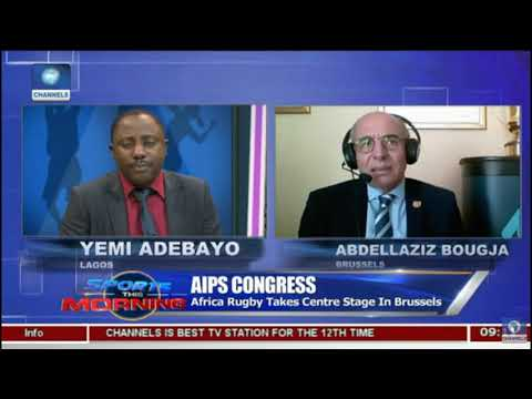 Channels Television - Sports this morning - Rugby Africa Takes Center Stage (08/05/2018)