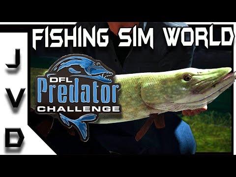 FISHING SIM WORLD Gameplay | Predator Challenge #1 | Hunting Northern Pike! | PC PS4 Xbox One