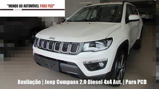Avaliação | Jeep Compass 2.0 Longitude Diesel 4x4 Aut. | Para PCD