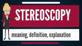 What is STEREOSCOPY? What does STEREOSCOPY mean? STEREOSCOPY meaning, definition & explanation