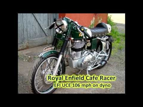 Building Cafe Racer EFI From Royal Enfield C5 Part I Body