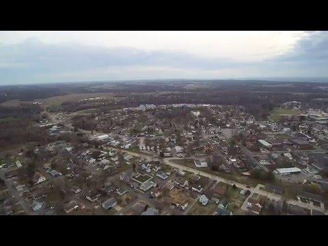 A bit of Columbia, IL at 400'
