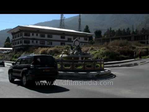 Less traffic on the roads: Bhutan's secret of happiness ?
