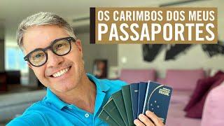 Um Tour Pelos Meus Passaportes - Diário Da Quarentena #1