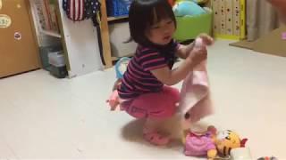 お人形で 遊ぶ笑隊長 やっと 女の子らしい遊びを… ブログはこちらhttp:/...