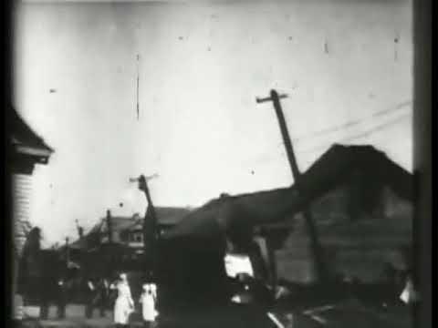 Galveston Hurricane 1900   Film   Thomas A Edison