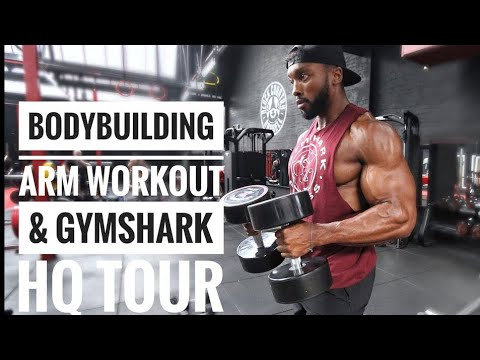 Gymshark HQ TOUR & A BRUTAL ARM Workout