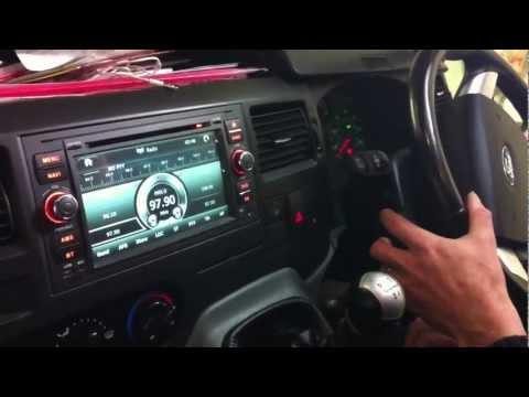 Ford transit 2010 onwards steering control setup