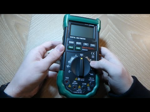Review and Teardown of the Mastech MS8268 Multimeter