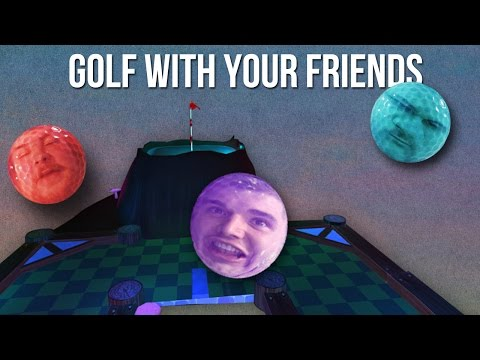 The Most Ridiculous Hole in One & 50% Gravity = 100% Rage - GOLF WITH YOUR FRIENDS FUNNY MOMENTS
