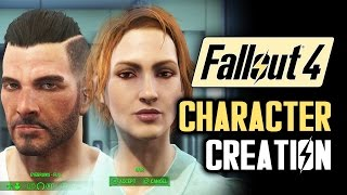 Fallout 4 Character Creation Gameplay: Customization for Male and Female