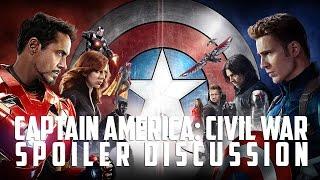 Captain America: Civil War Spoilers Discussion