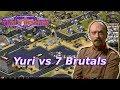 Red Alert 2 - Near Ore Far Map - 7 brutals vs 1 yuri