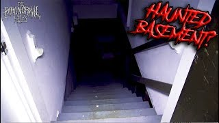 is this the scariest rental home of all time? (FOUND haunted BASEMENT?) [Paranormal Vlog 2018]