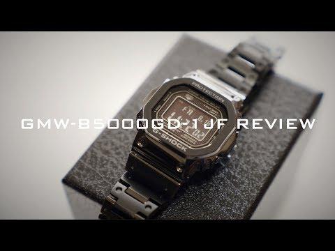 究極のGショック、降臨。CASIO G-SHOCK GMW-B5000GD-1JF ジーショック35周年で5000シリーズ初のフルメタル仕様を開封【カシオ腕時計】
