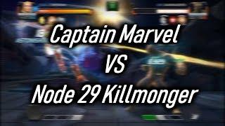 Captain Marvel Destroys Node 29 Killmonger - Marvel Contest Of Champions